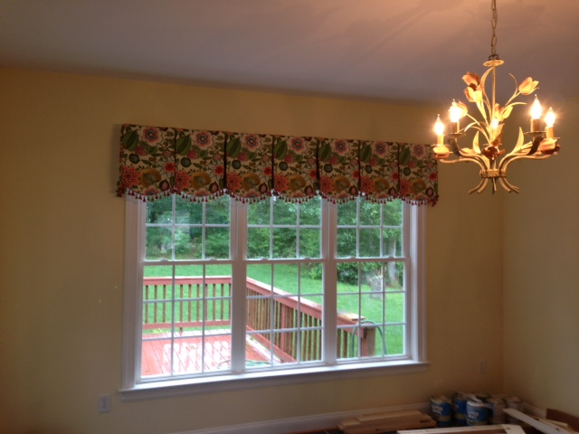 Sunroom Valance