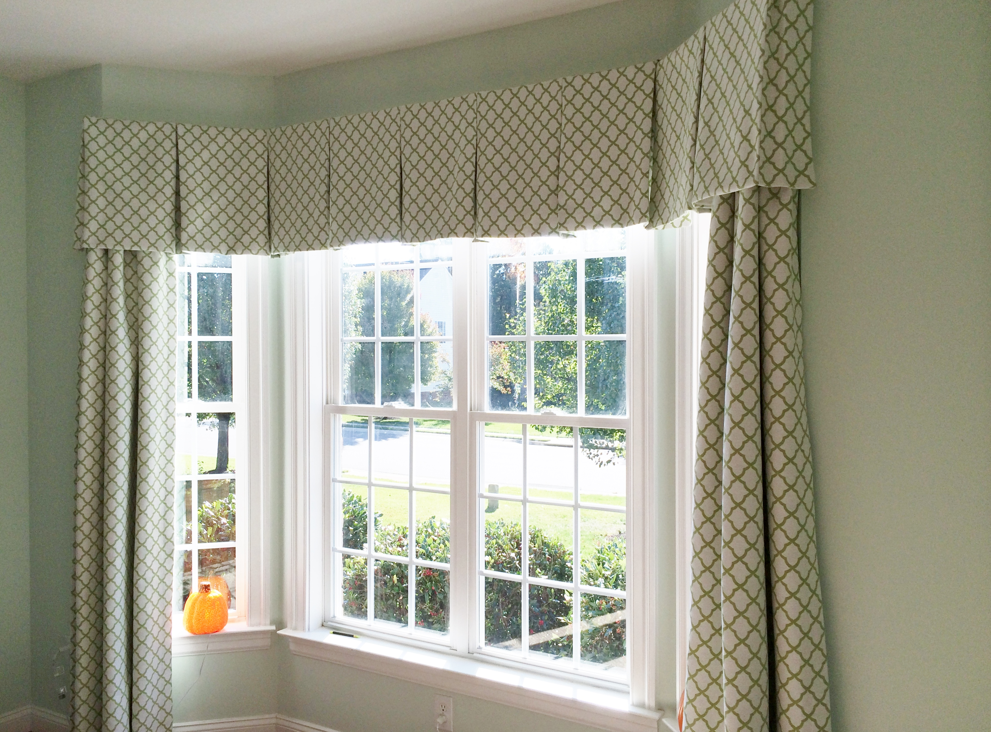 Custom window valances ideas for Unique window designs